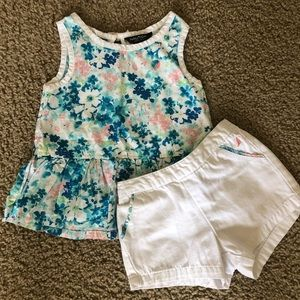 Toddler Girls Summer Outfit